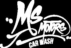 LOGOS MS MOTORS CAR WASH WHITE